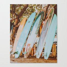 lets surf xl Canvas Print