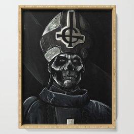Ghost // Papa Emeritus Serving Tray