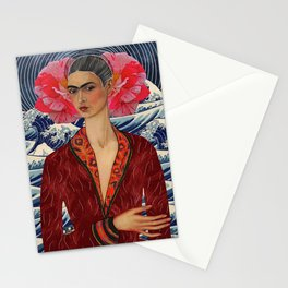 la elegancia de frida Stationery Cards
