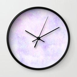 Pastel Cloulds Sky Seamless Nebula 83 Wall Clock