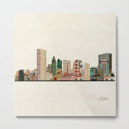 toledo city skyline Metal Print