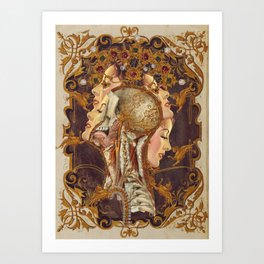 opulence2 *collage Art Print