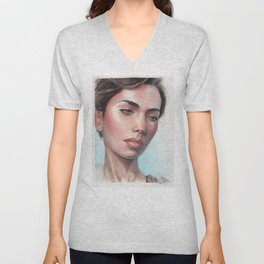 Venice Waitress Unisex V-Neck