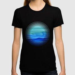 Alcohol Ink Seascape T-Shirt
