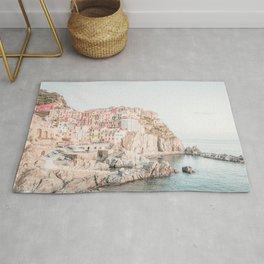 Positano, Italy Amalfi Coast Romantic Photography Rug