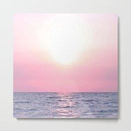 Calming Sea view Metal Print