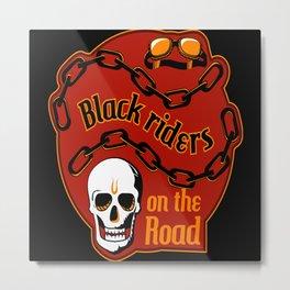 Riders On The Road Metal Print