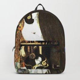 Gustav Klimt - Beethoven Frieze Backpack