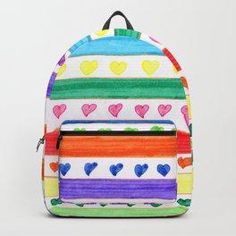 LOVE STRIPES Backpack