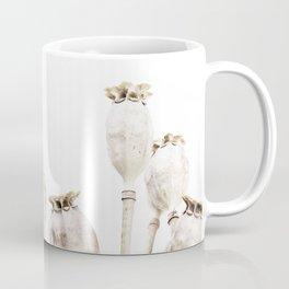 Neutral Poppies Coffee Mug