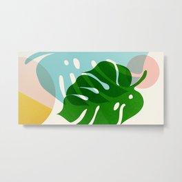Abstraction_PLANTS_01 Metal Print