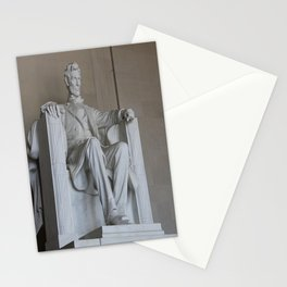 President Lincoln Statue - Washington DC Stationery Cards