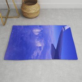 Aerial Blue Hues II Rug