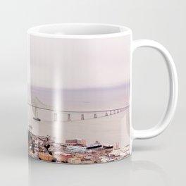 view from the Astoria Column, Astoria–Megler Bridge 2 Coffee Mug
