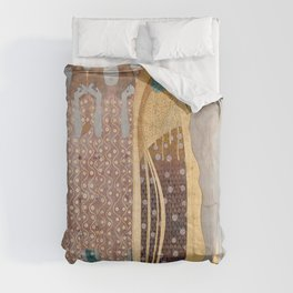 Gustav Klimt - Beethovenfries Comforters