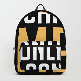 Only You Can See Me Ghost Halloween Boo Backpack
