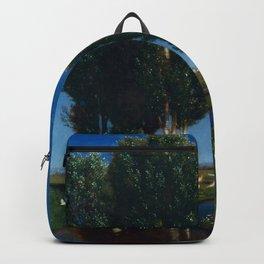 Arnold Böcklin - Summer day Backpack
