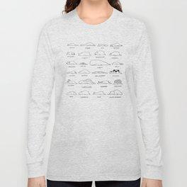Moody Animals Pattern Long Sleeve T-shirt