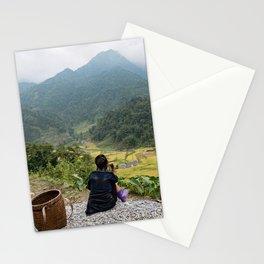 Sa Pa Landscapes I - Vietnam Stationery Cards