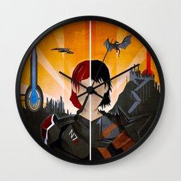 The Shepard & The Hawke Wall Clock