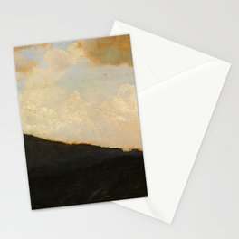 Paesaggio - Landscape by Giuseppe de Nittis - Italian Fine Art Oil Painting Stationery Cards