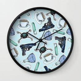FitzSimmons Pattern Wall Clock