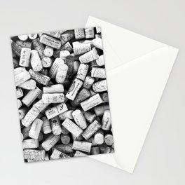 Something Nostalgic II Twist-off Wine Corks in Black And White #decor #society6 #buyart Stationery Cards