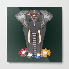 Mystical elephant Metal Print
