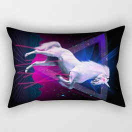 The last laser unicorn Rectangular Pillow