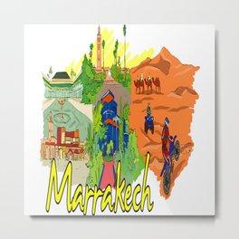 Marrakech Morocco Metal Print