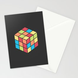 #68 Rubix Cube Stationery Cards