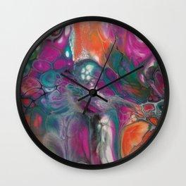 Fluid Color Wall Clock