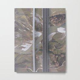 uomo e natura Metal Print