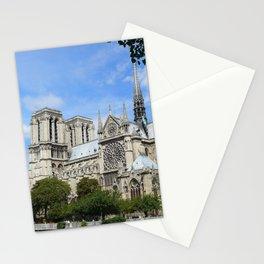 Notre Dame de Paris South Façade Stationery Cards