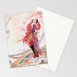 Kay Nielsen - Prince Souci And Princess Mignon Minette On The Fan Stationery Cards