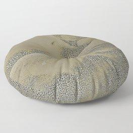 bodybuilder Abstract ( Limited 01 / 50#) Floor Pillow
