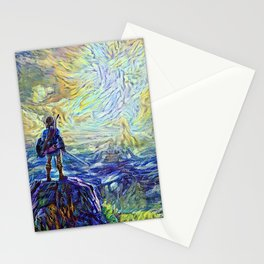 Paladin of justice Stationery Cards