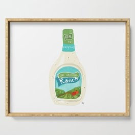 Ranch Dressing Serving Tray