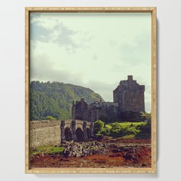 Eilean Donan Castle, Scotland's Highlands - Fine Arts Travel Photography Serving Tray