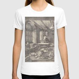 Albrecht Durer Saint Jerome in His Study 1514 T-shirt