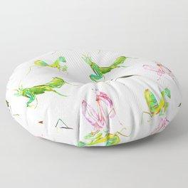 The Leaf Mantis Floor Pillow