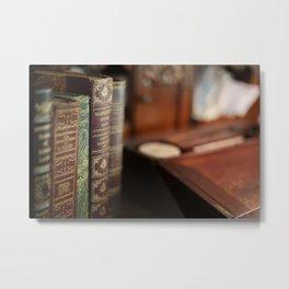 The Writing Desk 2 Metal Print