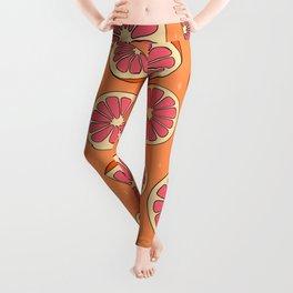 Grapefruit Print Leggings