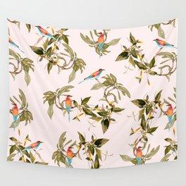 Birds in habitat Wall Tapestry