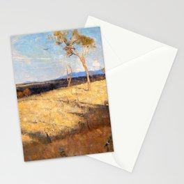 Arthur Streeton - Golden Summer, Eaglemont - Digital Remastered Edition Stationery Cards