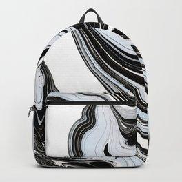 Marbled Black & Blue III Backpack