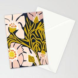 Backyard flower – modern floral illustration Stationery Cards