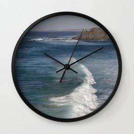 Portugal Surf Spot Big Wave Wall Clock