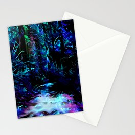 Blacklight Dreams of the Forest Stationery Cards