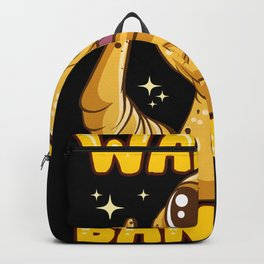 Wanna Banana Gecko Lover Funny Backpack
